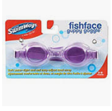 Fish Face Guppy Goggles 3-8 ages